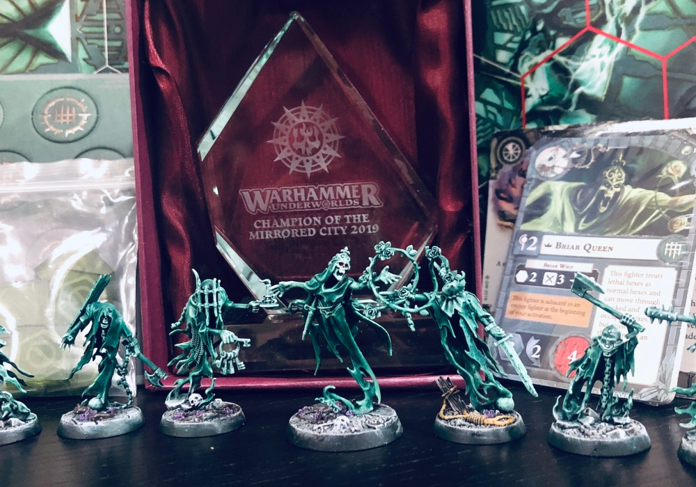 Thorns of the Briar Queen won a Shadeglass trophy in Dubai