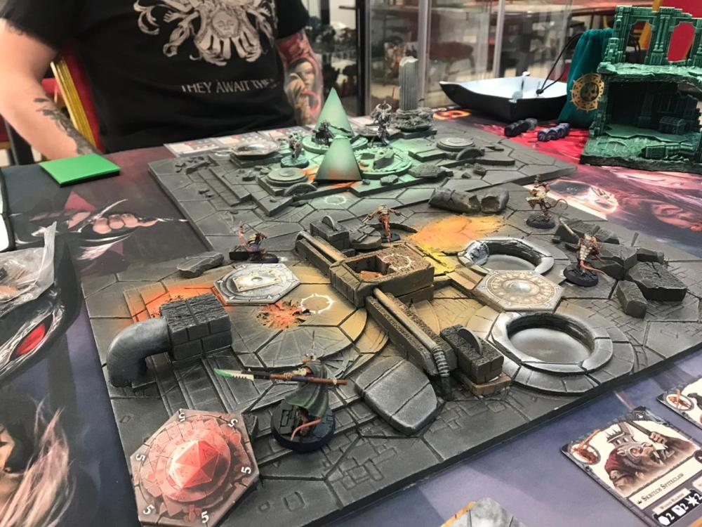 3D boards for Warhammer Underworlds with Eyes of the Nine & Spiteclaw's Swarm