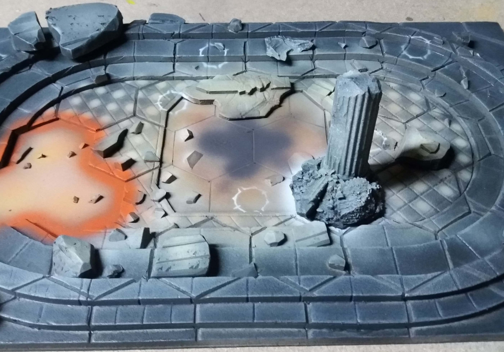Forbidden Chambers Board Pack - WHU
