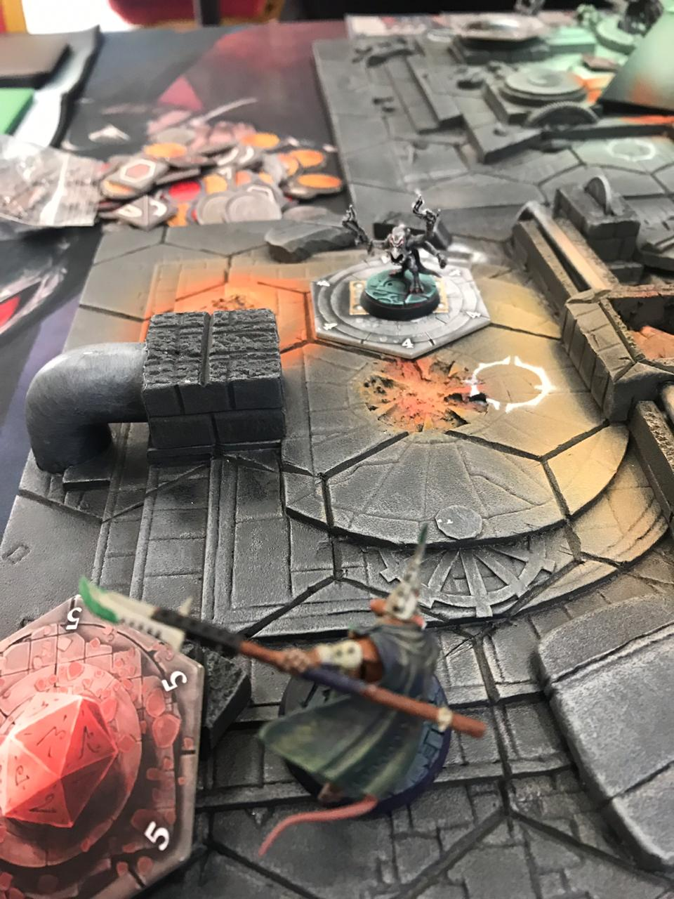 Blue Horror holding objetive against Spiteclaw's Swarm